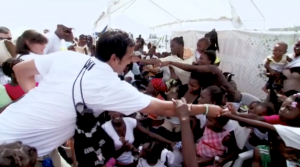 Miami Heat Head Coach Erik Spoelstra Visits Haiti