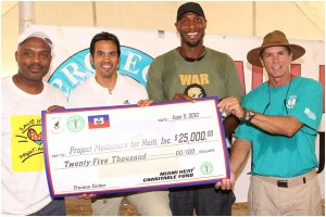 Miami Heat and Coach Erik Spoelstra visit Haiti